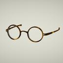 セル丸メガネ