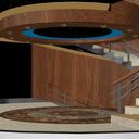 螺旋階段ステージ
