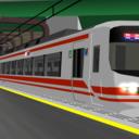 名鉄1600系電車 MMDモデル