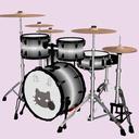 MMDドラムセット「星のタマ」