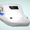 【配布】N700系A-新幹線電車編成/11号車車内ステージ