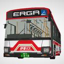いすゞ ERGA (QPG-LV290N1) 大型路線バス