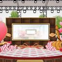 バレンタインステージ風舞台
