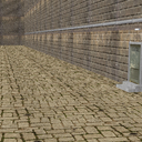 路地裏背景モデル