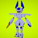 三柱式ヘッドシザース(MMDモデル)