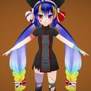 【モデル配布】音街ウナ-ハロウィン衣装-【公式】Ver1.2