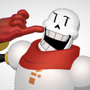 MMD SN-SD Undertale Papyrus