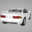 「MMDモデル配布」 MR2 SW20 97 GT
