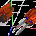 三柱式ハンドクロー