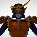 三柱式 仮面ライダー鎧武 オレンジアームズ