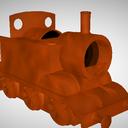 スクラップ機関車セット