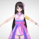 公式MMD雛乃木まや新衣装(SAKURA)モデル
