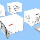 冷蔵コンテナセット
