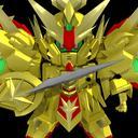 【MMD】超黄金竜 配布【騎士ガンダム】