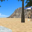 【Vキャス背景】孤島 昼