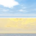 青空流れる雲スカイドーム