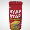 【MMD】NYAP STAR(筒型ポテチ)【アクセサリ配布あり】