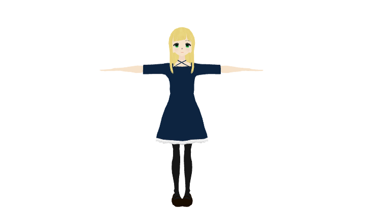 「Sofija [ex for UniVRM 0.4.5]」 / 白須賀平八 さんの作品 - ニコニ立体