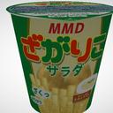 【MMD】ざがりこ(スナック菓子)【アクセサリ配布あり】