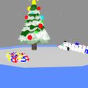 クリスマス背景(暫定版)