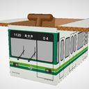 仙台市営地下鉄1000系for箱電