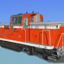 【改造】DE10-1035(トサゴ) MMDモデル
