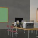 研究室のような部屋(テスト用)
